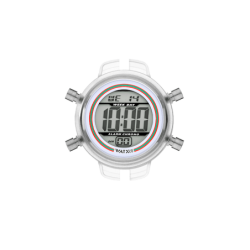 Digital Race / White / 38mm