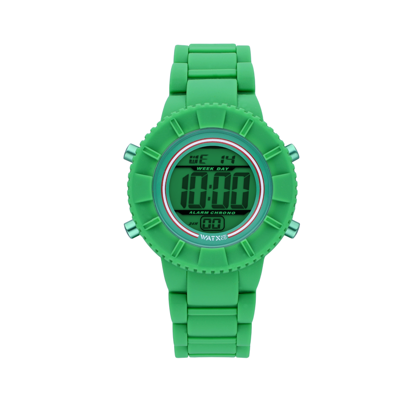 Reloj DIGITAL RACE GREEN / 38MM