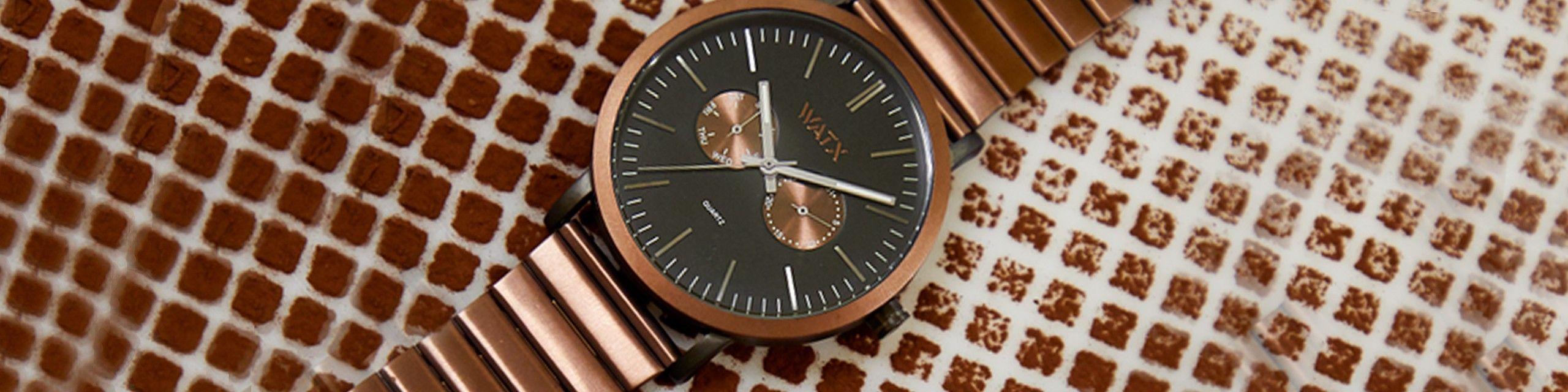 Colecção de relógios em metal, os mais elegantes - Watx Portugal