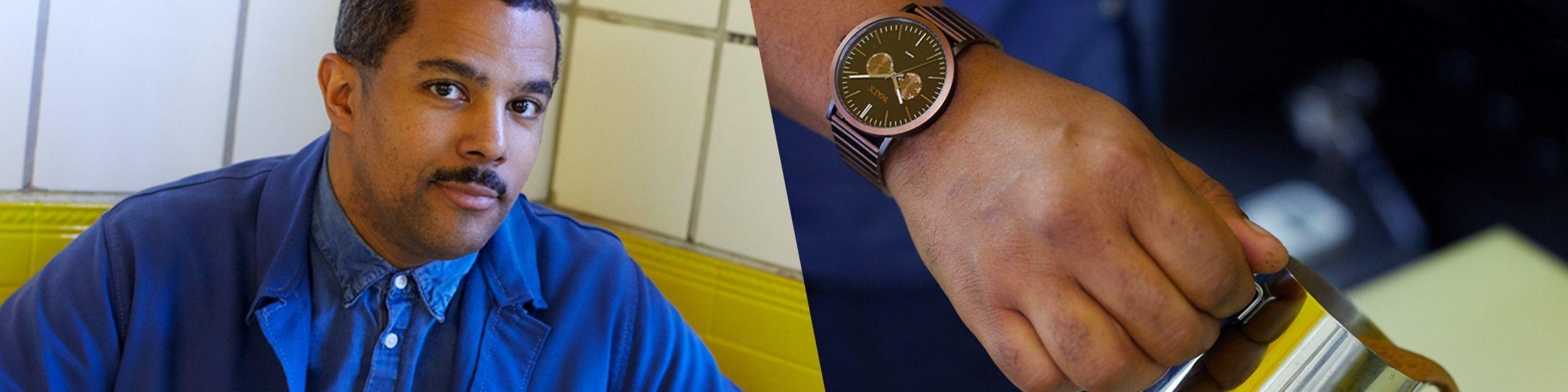 Loja online de relógios metálicos para homem - Watx Portugal