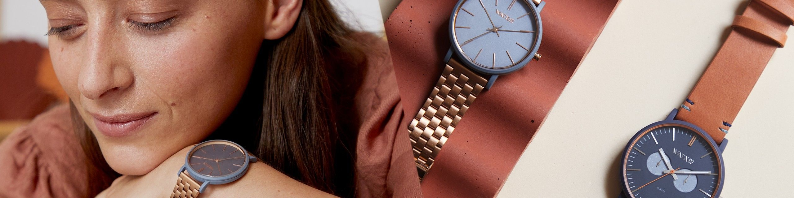 Loja online de relógios metálicos para mulher - Watx Portugal